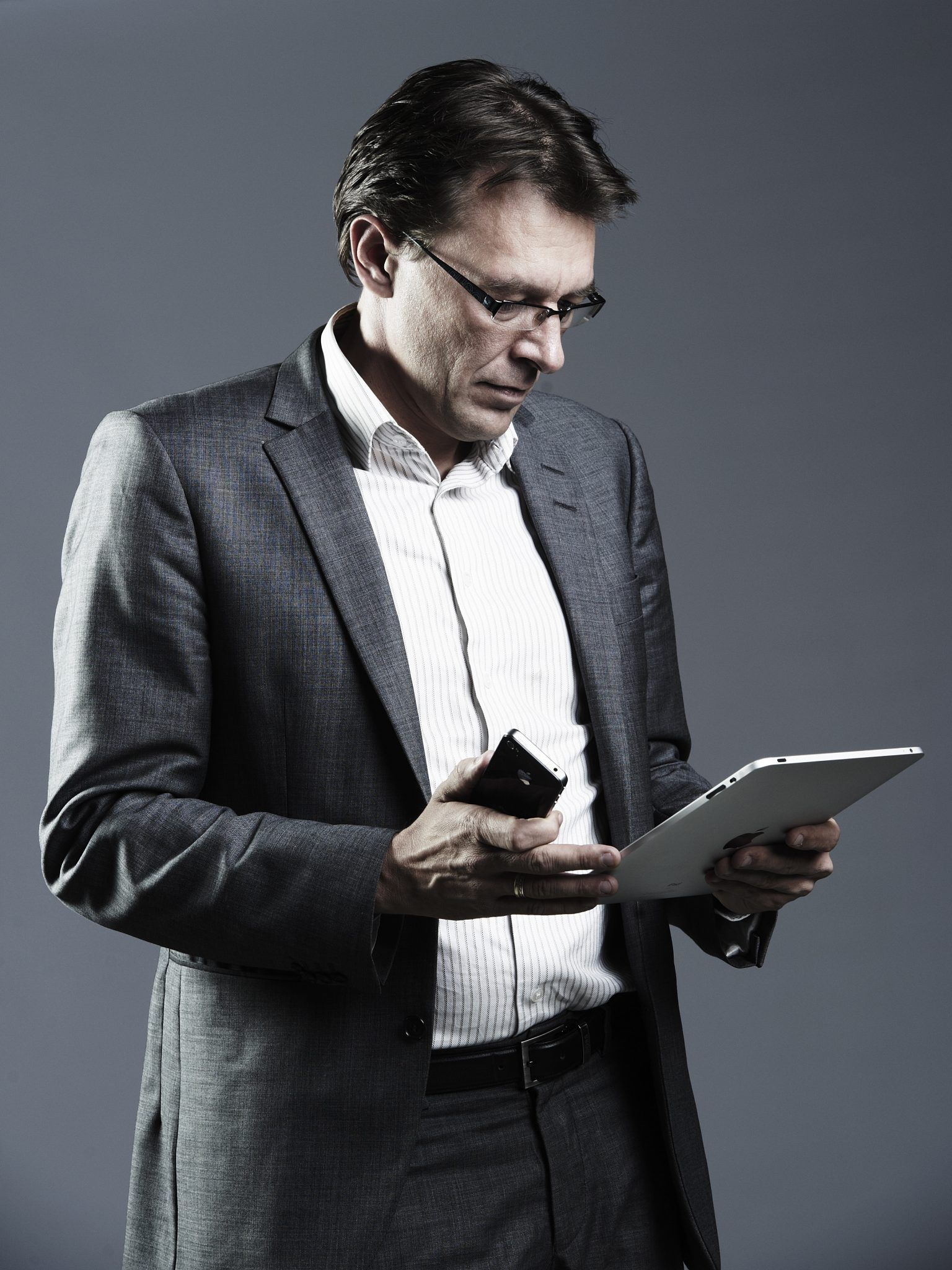 Moderator Jeppe Søe